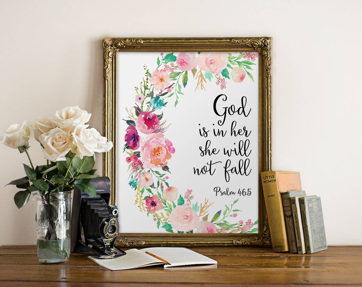 Best ideas about Bible Verse Wall Art . Save or Pin 30 s Bible Verses Wall Art Now.