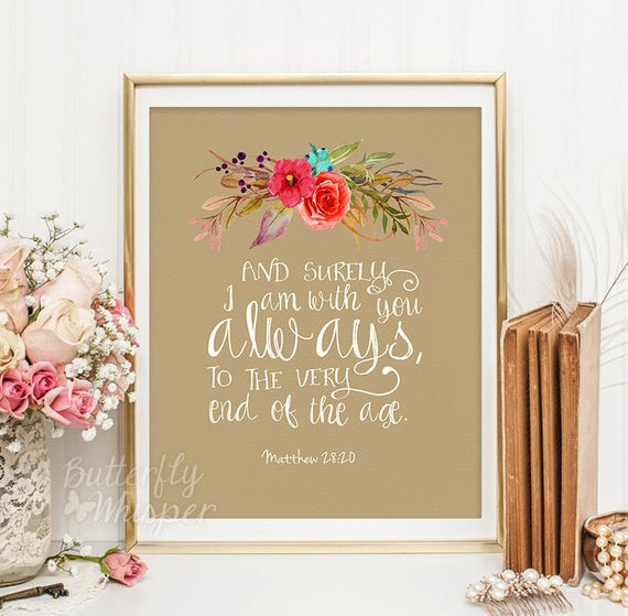 Best ideas about Bible Verse Wall Art . Save or Pin Christian wall art scripture print Nursery by ButterflyWhisper Now.