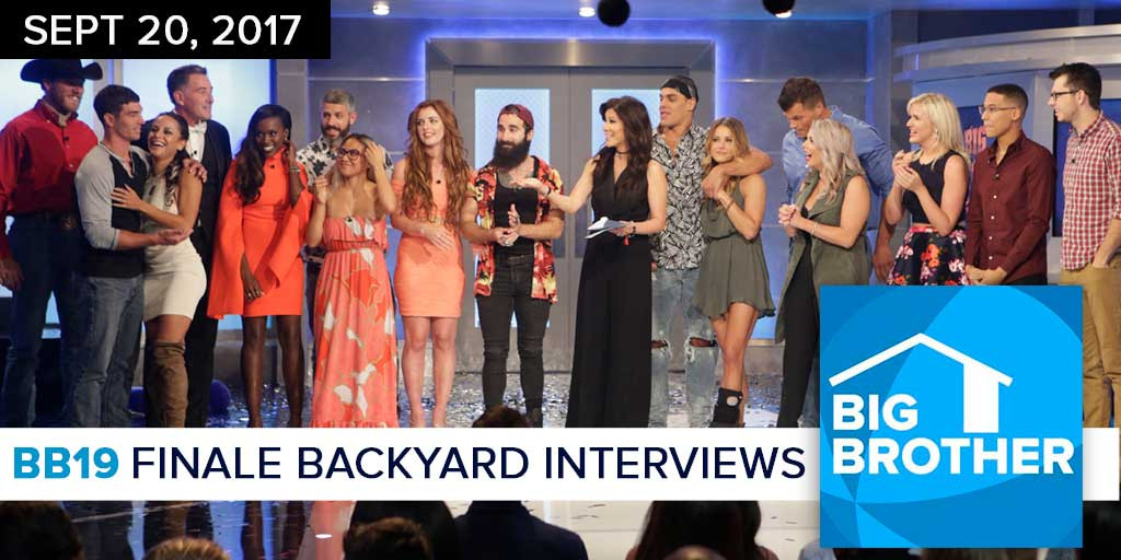 The top 20 Ideas About Big Brother Backyard Interviews ...