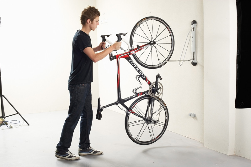 Best ideas about Bike Rack Wall Mounted Vertical . Save or Pin pact Vertical Bike Rack Now.