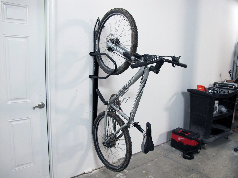 Best ideas about Bike Rack Wall Mounted Vertical . Save or Pin Saris Bike Trac Vertical 1 Bike Storage Rack Wall Mount Now.