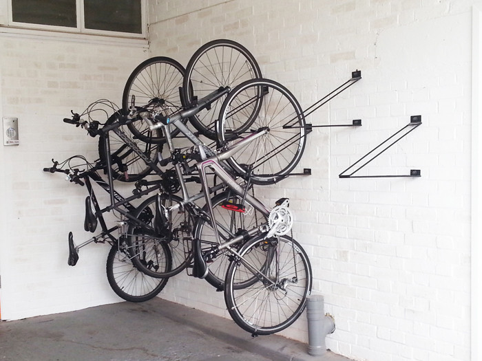Best ideas about Bike Rack Wall Mounted Vertical . Save or Pin Vertical Bike Rack Now.