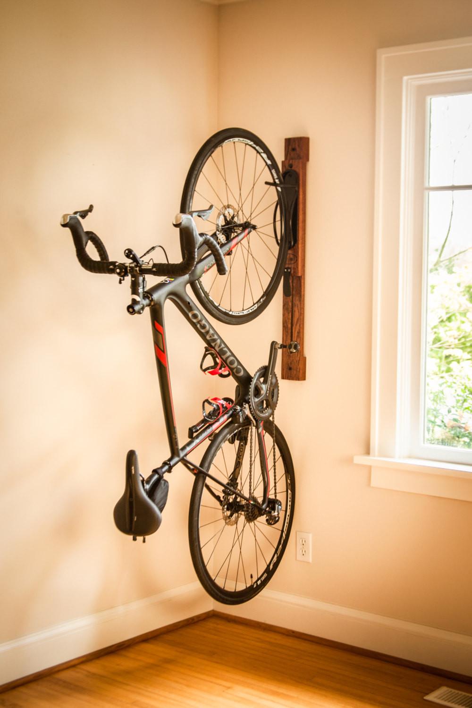 Best ideas about Bike Rack Wall Mounted Vertical . Save or Pin Bike Rack 3 Vertical Wall Mount Adjustable Bike Rack Now.