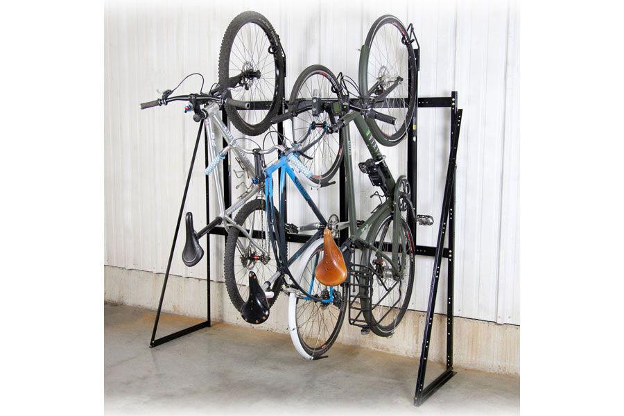 Best ideas about Bike Rack Wall Mounted Vertical . Save or Pin Saris Vertical 4 Bike Wall Rack Saris Bike Parking Racks Now.