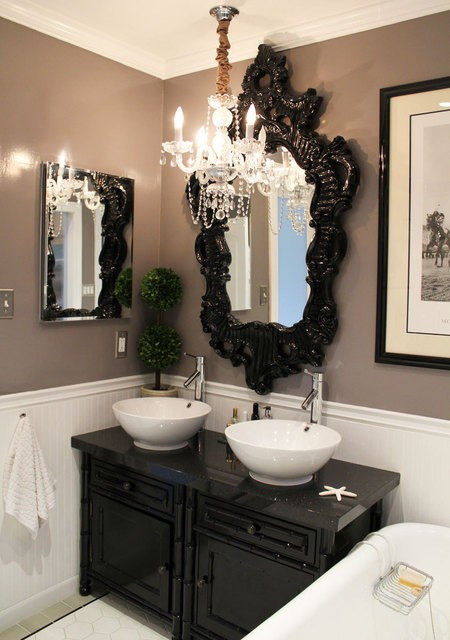 Best ideas about Black And White Bathroom Decor . Save or Pin Black And White Bathroom Design Ideas Now.