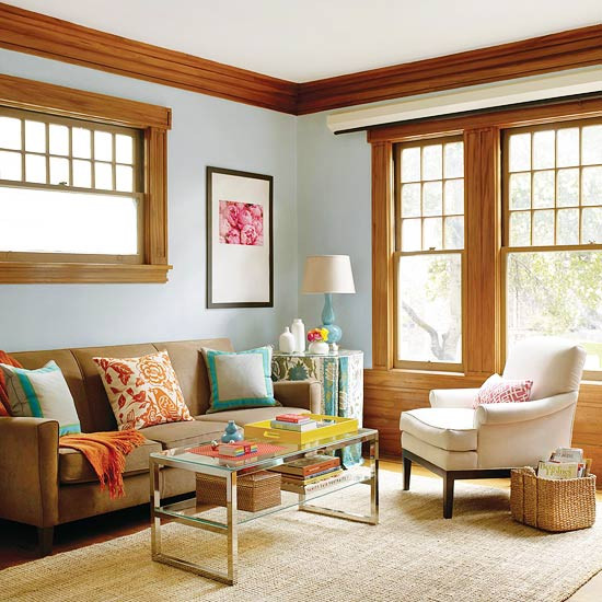 Best ideas about Blue Accent Wall Living Room . Save or Pin 20 Blue living room design ideas Now.
