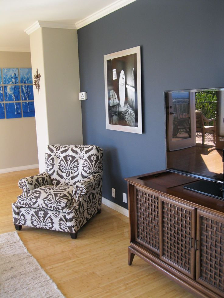 Best ideas about Blue Accent Wall Living Room . Save or Pin 25 best ideas about Blue accent walls on Pinterest Now.