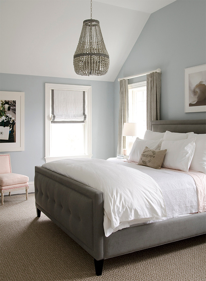 Best ideas about Blue And Grey Bedroom . Save or Pin Popular Bedroom Paint Colors Now.