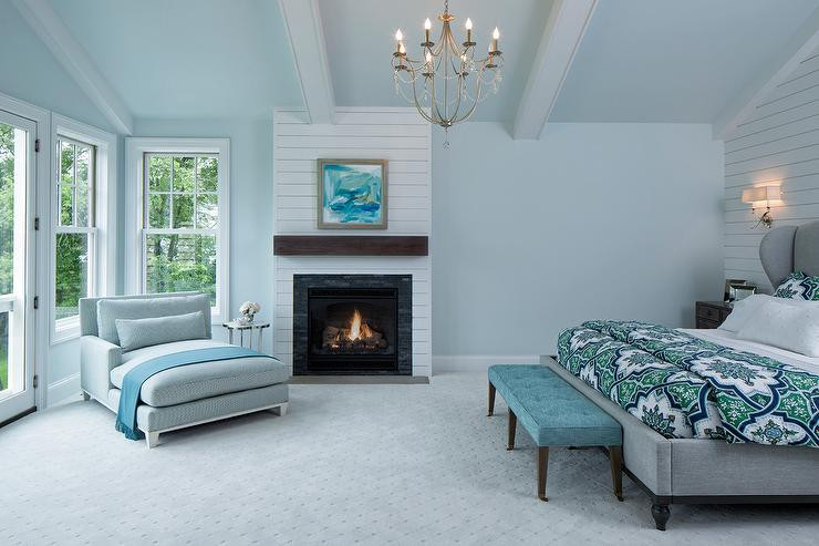 Best ideas about Blue And Grey Bedroom . Save or Pin Bedrooms Blue And Gray Master Bedroom Gray Chaise Lounge Now.