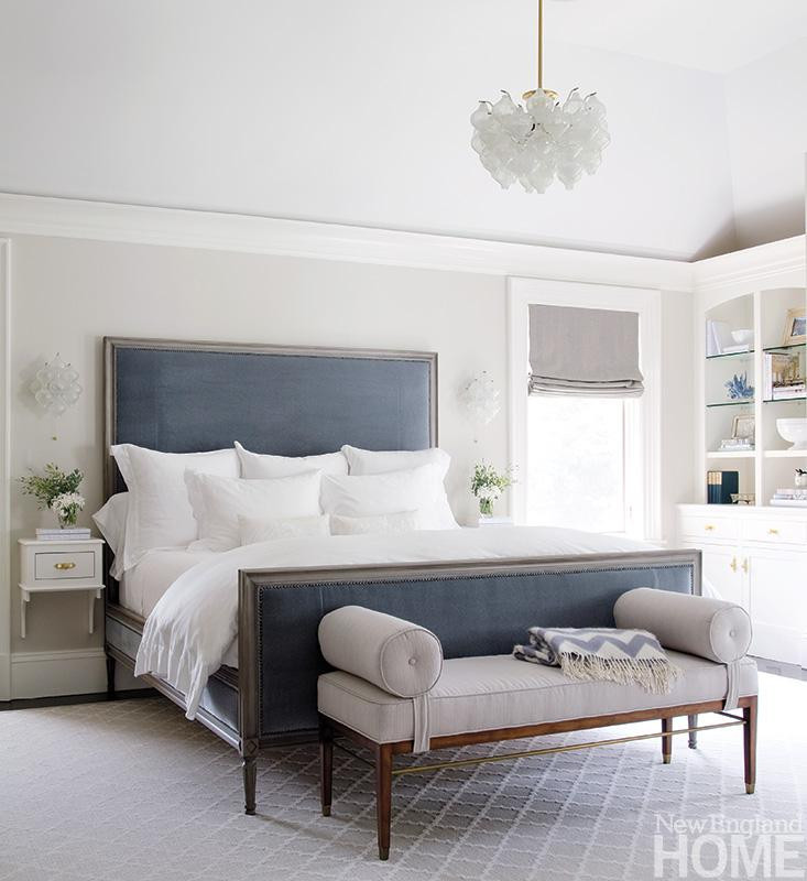 Best ideas about Blue And Grey Bedroom . Save or Pin Grey and blue in the bedroom – Greige Design Now.