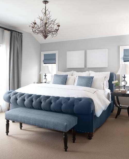 Best ideas about Blue And Grey Bedroom . Save or Pin Blue Black And Grey Bedroom Ideas Now.