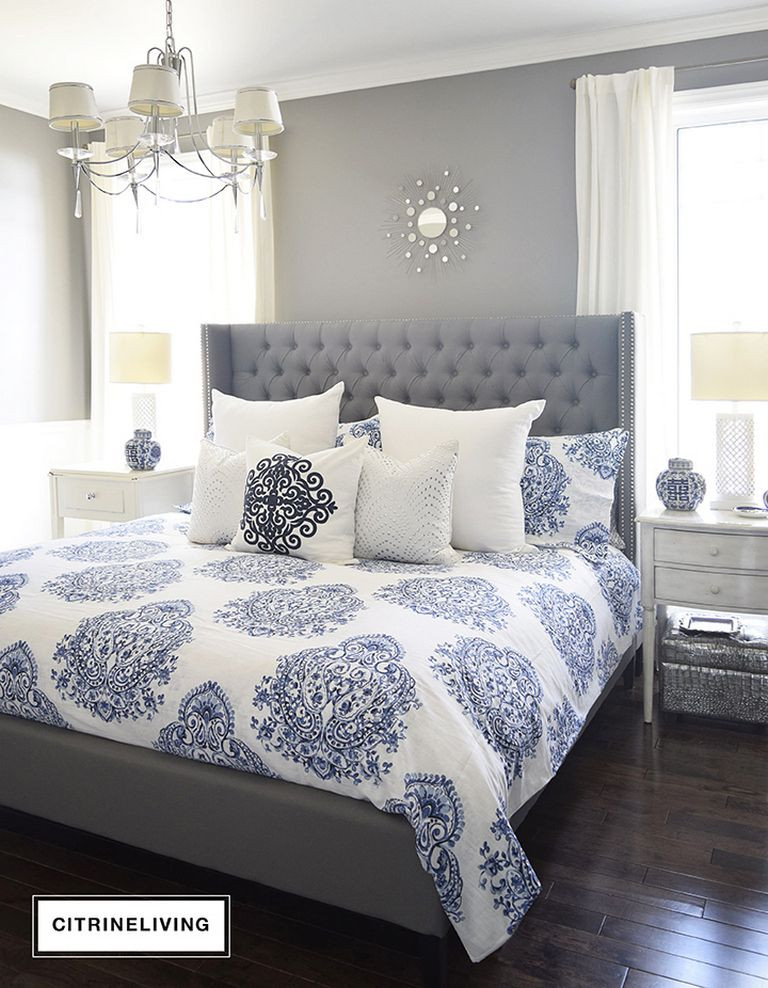 Best ideas about Blue And Grey Bedroom . Save or Pin Pin by Architecture Design Magz on Bedroom Design Ideas Now.