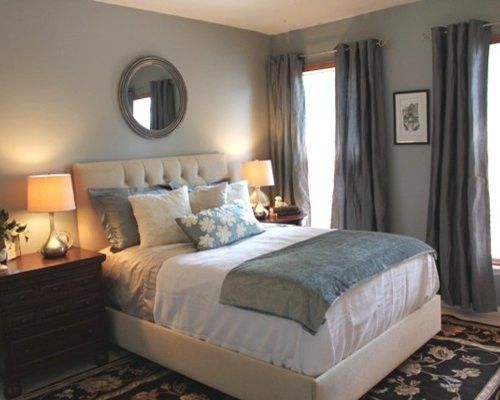 Best ideas about Blue And Grey Bedroom . Save or Pin Grey Blue Bedroom Now.