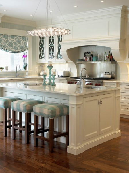 Best ideas about Blue And White Kitchen Decor . Save or Pin Classy Blue And White Kitchen Now.