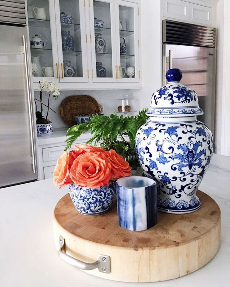 Best ideas about Blue And White Kitchen Decor . Save or Pin 25 best Kitchen jars ideas on Pinterest Now.
