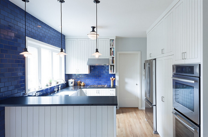 Best ideas about Blue And White Kitchen Decor . Save or Pin Blue And White Interiors Living Rooms Kitchens Bedrooms Now.