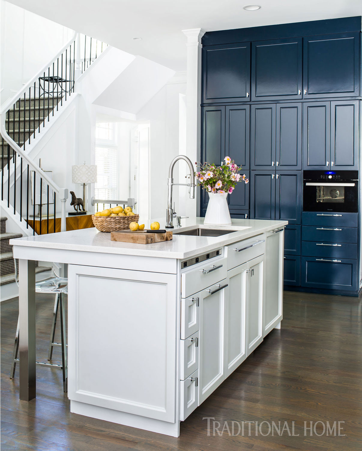 Best ideas about Blue And White Kitchen Decor . Save or Pin Blue and White Kitchen Decor Inspiration 40 Ideas Now.