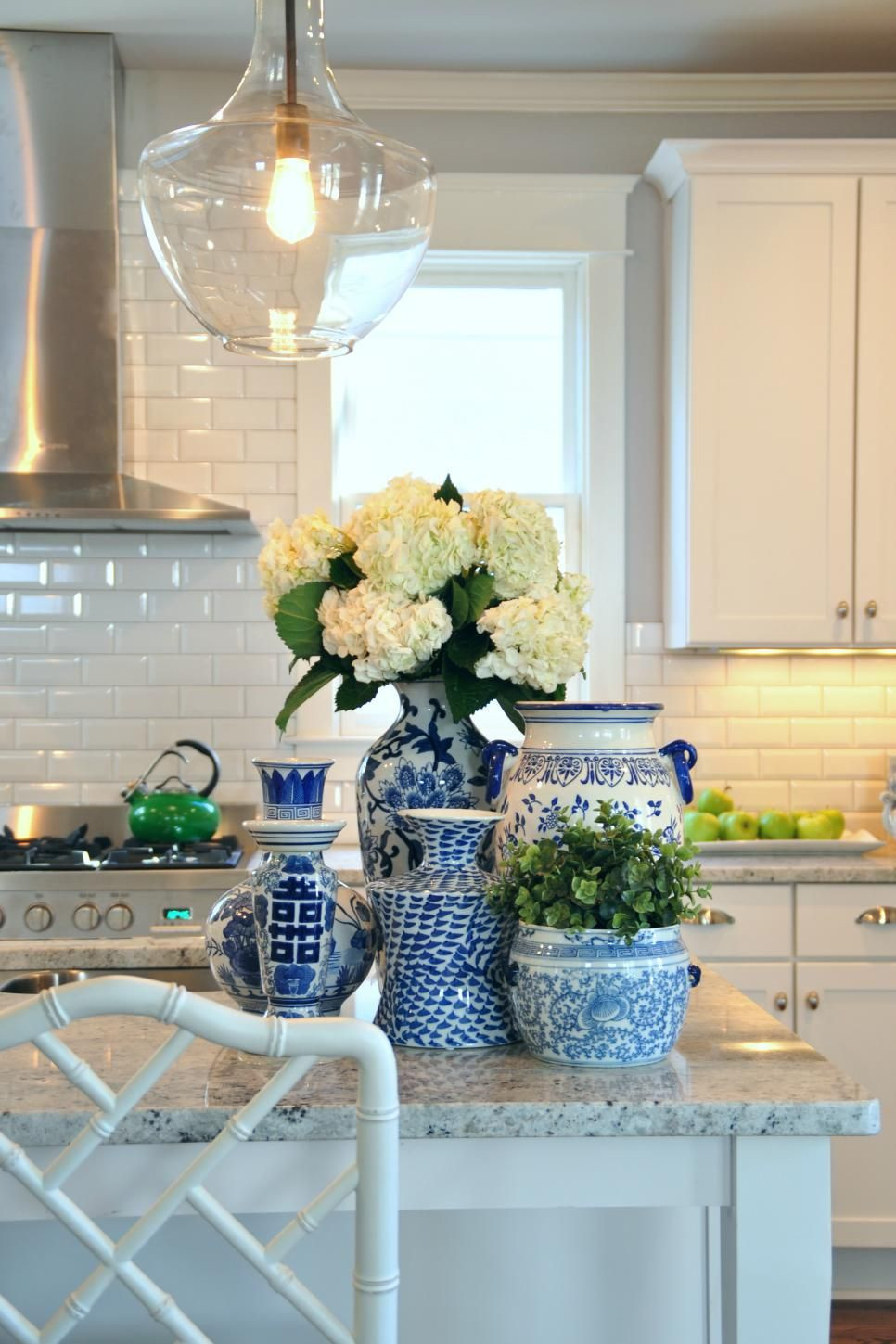 Best ideas about Blue And White Kitchen Decor . Save or Pin Ways to Save Money to Add or Update a Kitchen Island or Now.