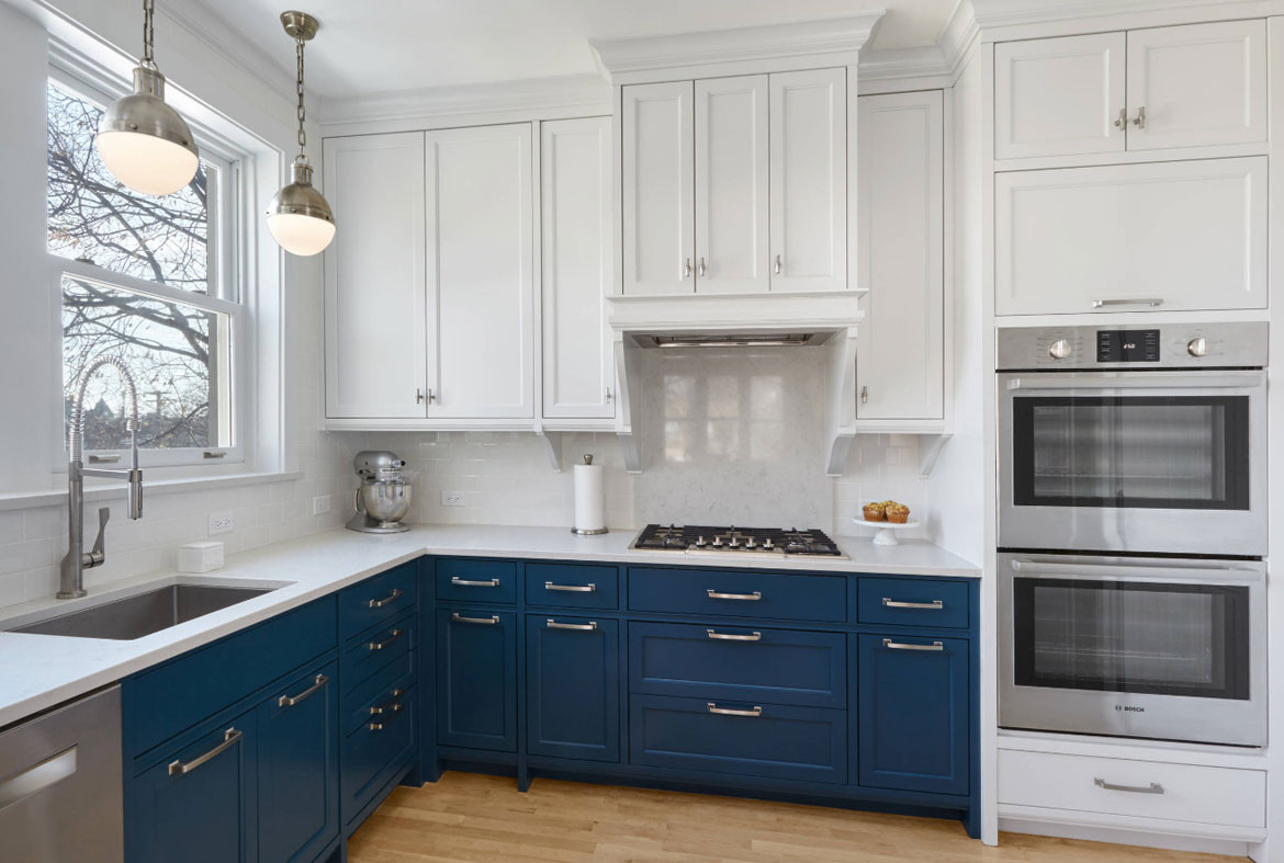 Best ideas about Blue And White Kitchen Ideas . Save or Pin Design Trend Blue Kitchen Cabinets & 30 Ideas to Get You Now.
