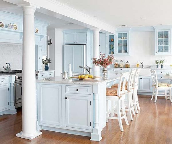 Best ideas about Blue And White Kitchen Ideas . Save or Pin 20 Charming cottage style kitchen decors Now.