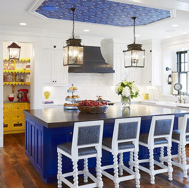 Best ideas about Blue And White Kitchen Ideas . Save or Pin Interior Design Ideas Home Bunch Interior Design Ideas Now.