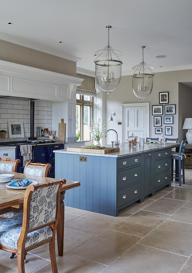 Best ideas about Blue And White Kitchen Ideas . Save or Pin New Interior Design Ideas for the New Year Home Bunch Now.