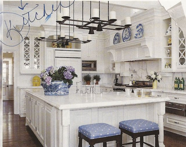 Best ideas about Blue And White Kitchen Ideas . Save or Pin Best 25 Blue white kitchens ideas on Pinterest Now.