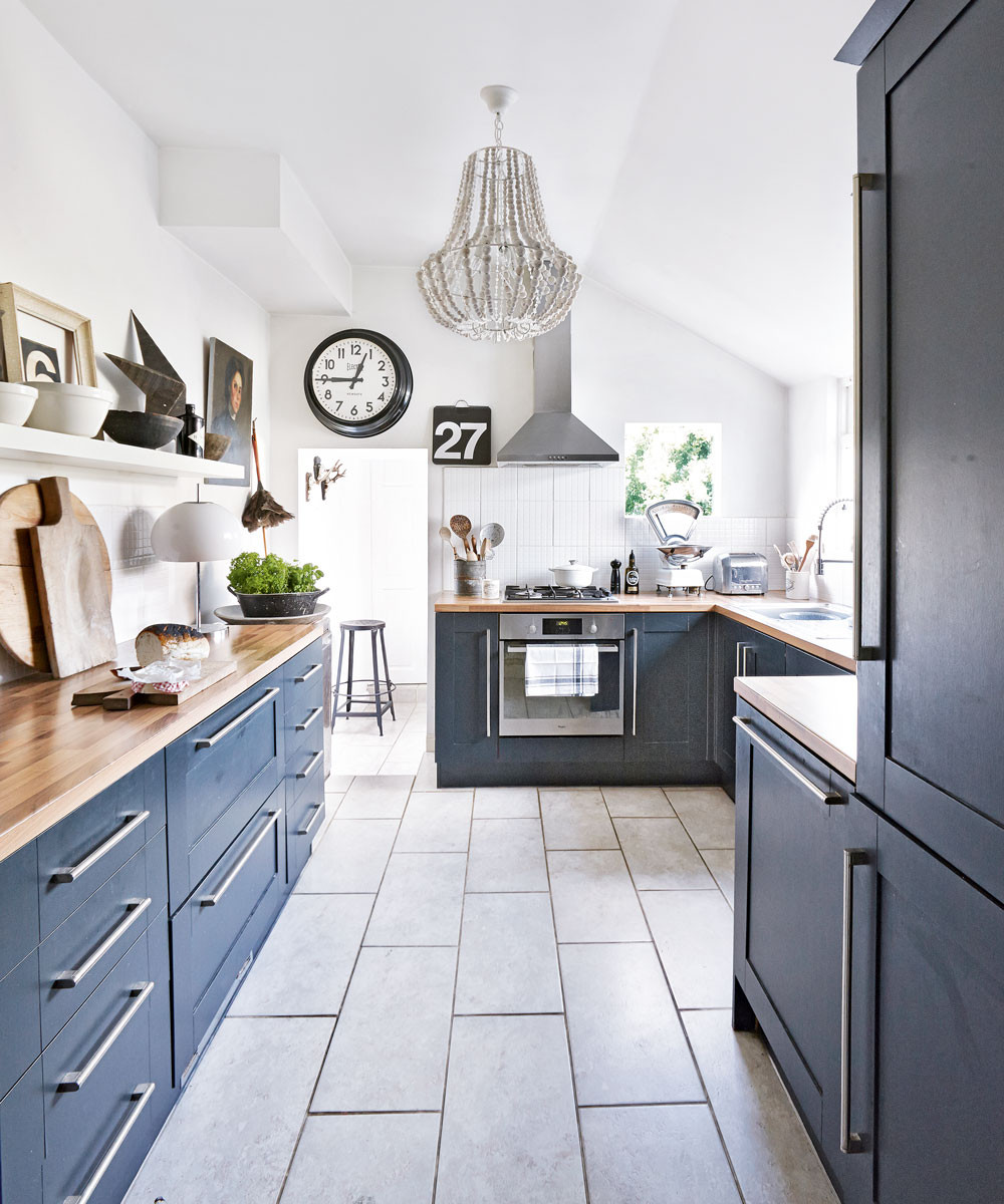 Best ideas about Blue And White Kitchen Ideas . Save or Pin Navy kitchen ideas – Navy blue kitchens that look cool and Now.