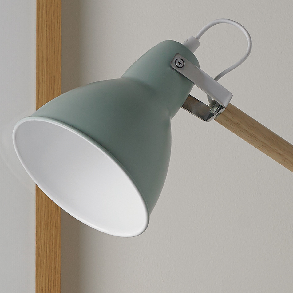 Best ideas about Blue Desk Lamp . Save or Pin Pastel Wooden Desk Lamp Blue or Cream Now.