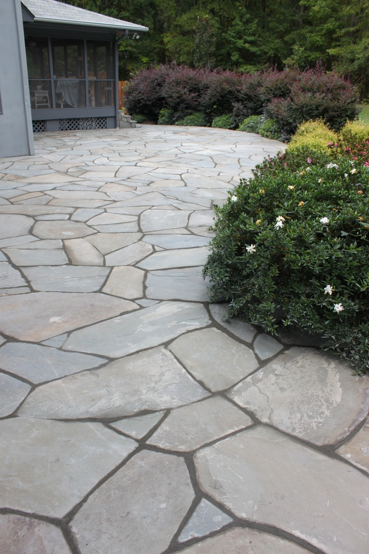 Best ideas about Blue Stone Patio . Save or Pin 300 best Stone patio ideas images on Pinterest Now.