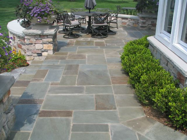 Best ideas about Blue Stone Patio . Save or Pin bluestone patio patterns Now.