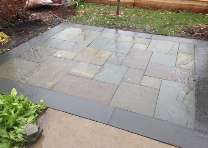 Best ideas about Blue Stone Patio . Save or Pin Bluestone Now.