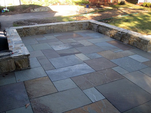 Best ideas about Blue Stone Patio . Save or Pin Bluestone Flagging Now.