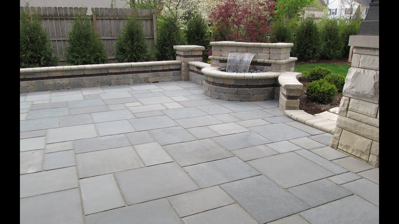 Best ideas about Blue Stone Patio . Save or Pin Bluestone Patio Flagstone Patio Against House Now.