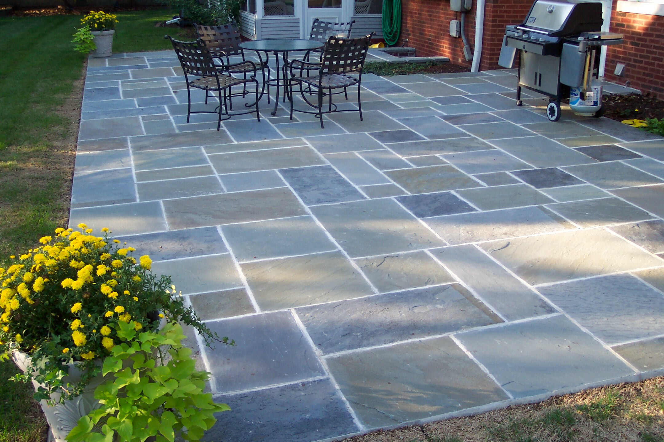 Best ideas about Blue Stone Patio . Save or Pin Stone Selections Now.