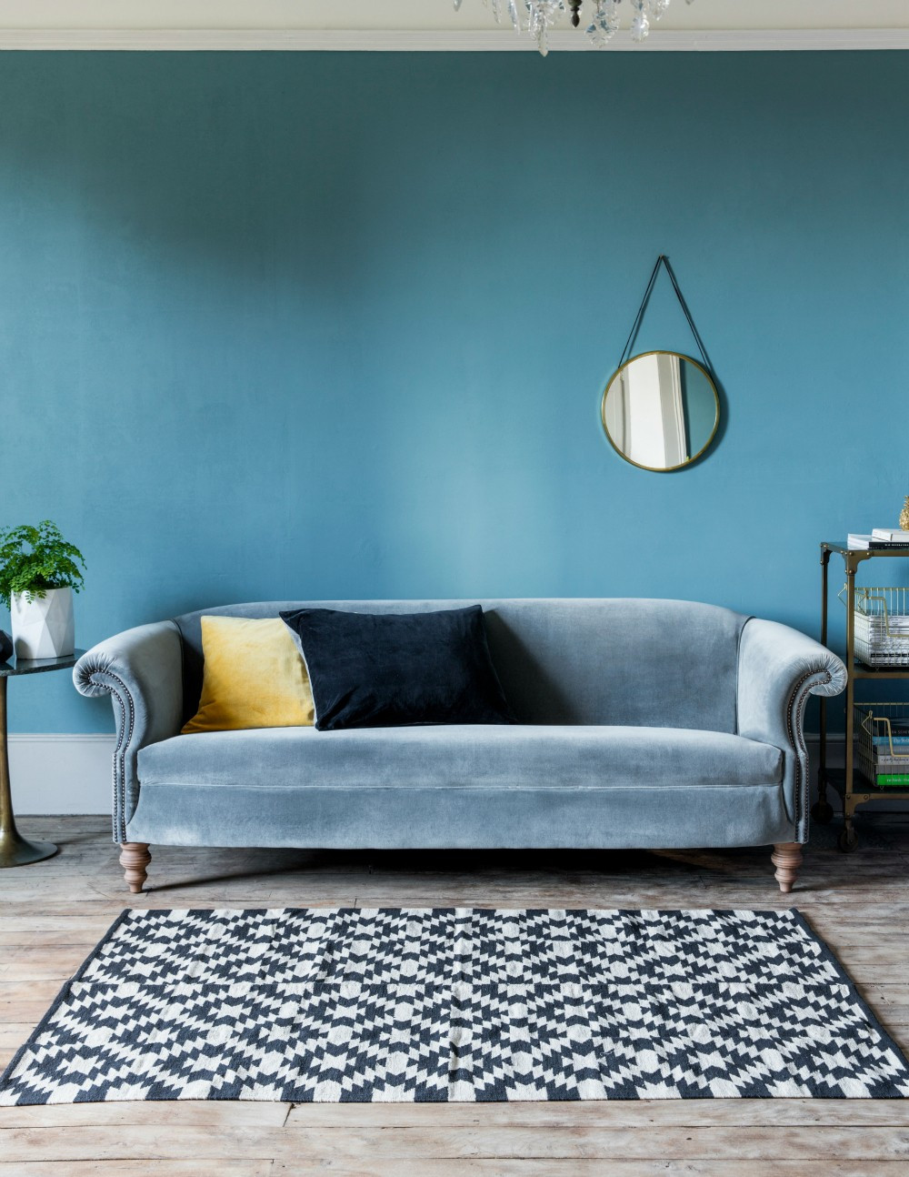 Best ideas about Blue Velvet Sofa . Save or Pin Velvet sofas 7 of the latest looks The English Home Now.