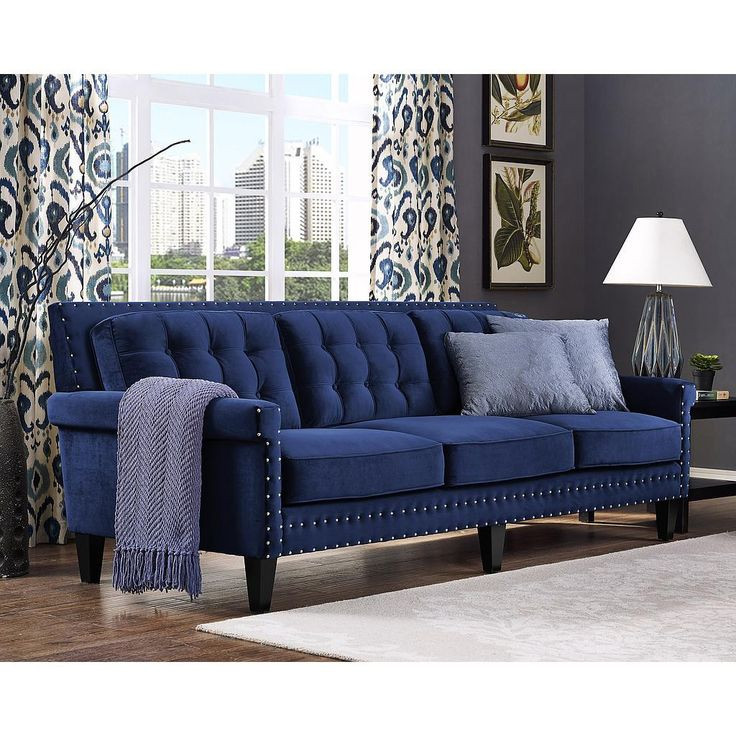 Best ideas about Blue Velvet Sofa . Save or Pin 1000 ideas about Blue Velvet Sofa on Pinterest Now.