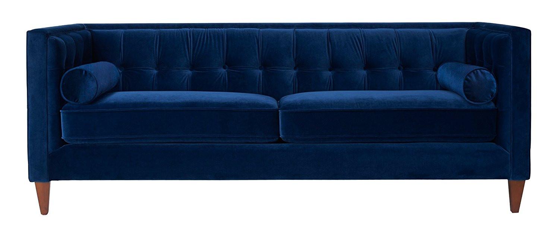 Best ideas about Blue Velvet Sofa . Save or Pin My Teal Blue Velvet Sofa Now.