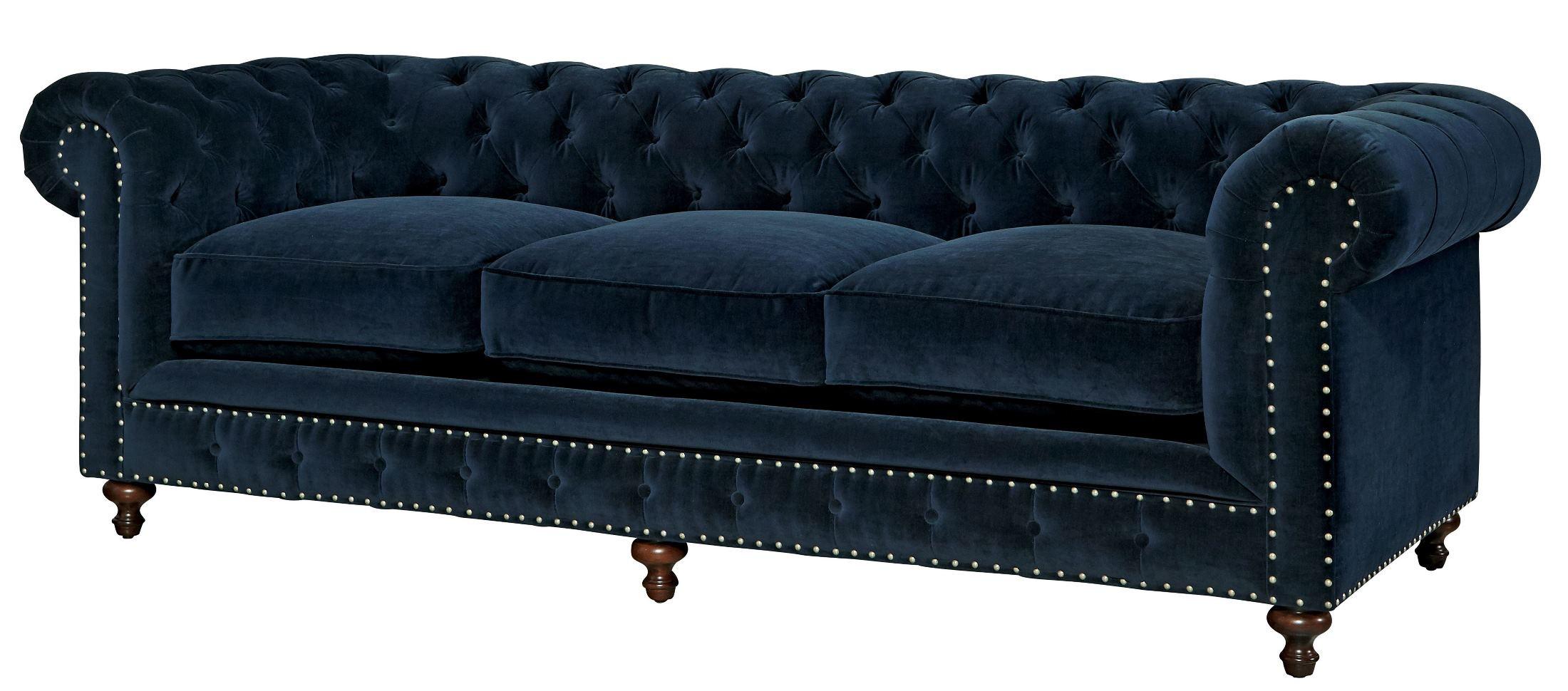 Best ideas about Blue Velvet Sofa . Save or Pin Universal Berkeley Sumatra Blue Velvet Sofa Berkeley Now.