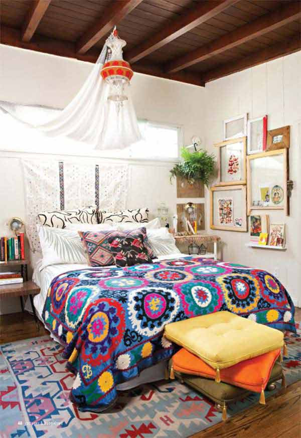 Best ideas about Bohemian Style Bedroom . Save or Pin 35 Charming Boho Chic Bedroom Decorating Ideas Now.