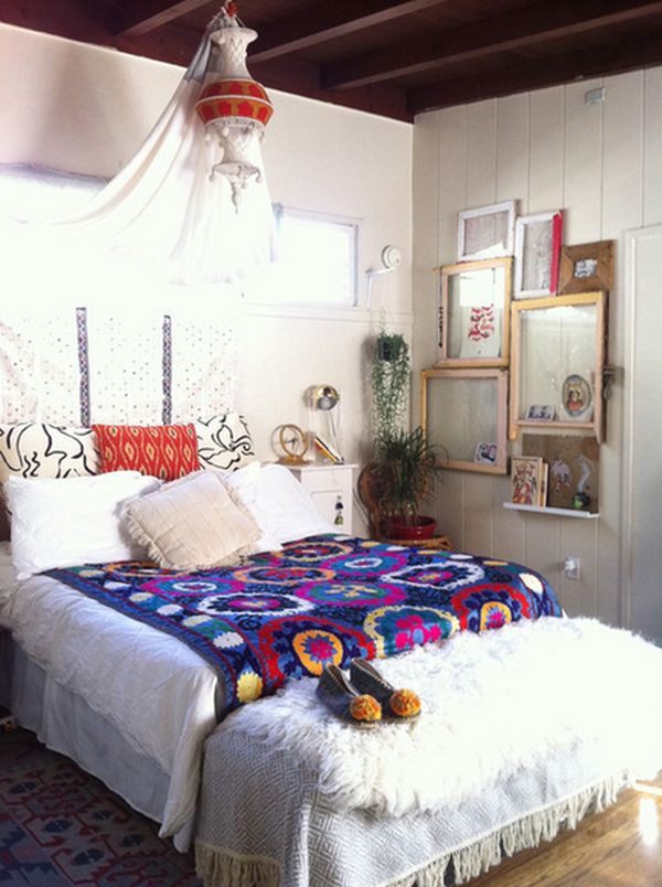 "Best ideas about Bohemian Style Bedroom . Save or Pin How to Achieve Bohemian or ""Boho Chic"" Style Now."