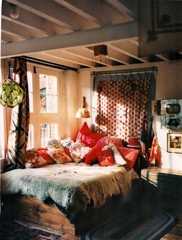 Best ideas about Bohemian Style Bedroom . Save or Pin bohemian style bedroom interior Now.