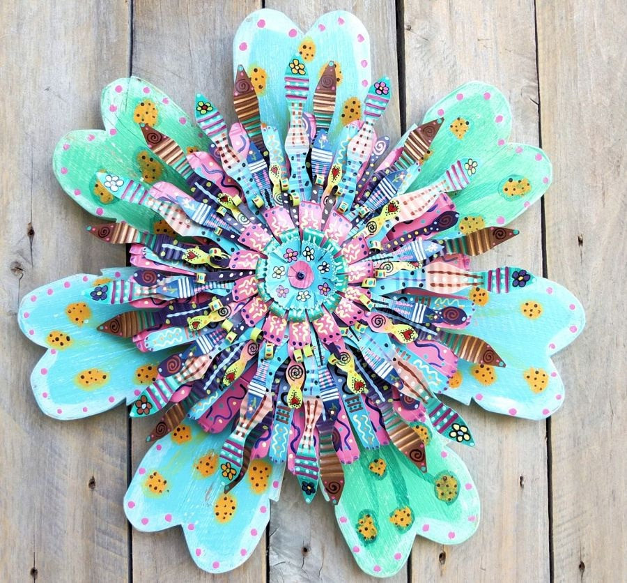 Best ideas about Boho Wall Art . Save or Pin Boho Turquoise Wall Art Bohemian Wall Decor by SalvageandBloom Now.