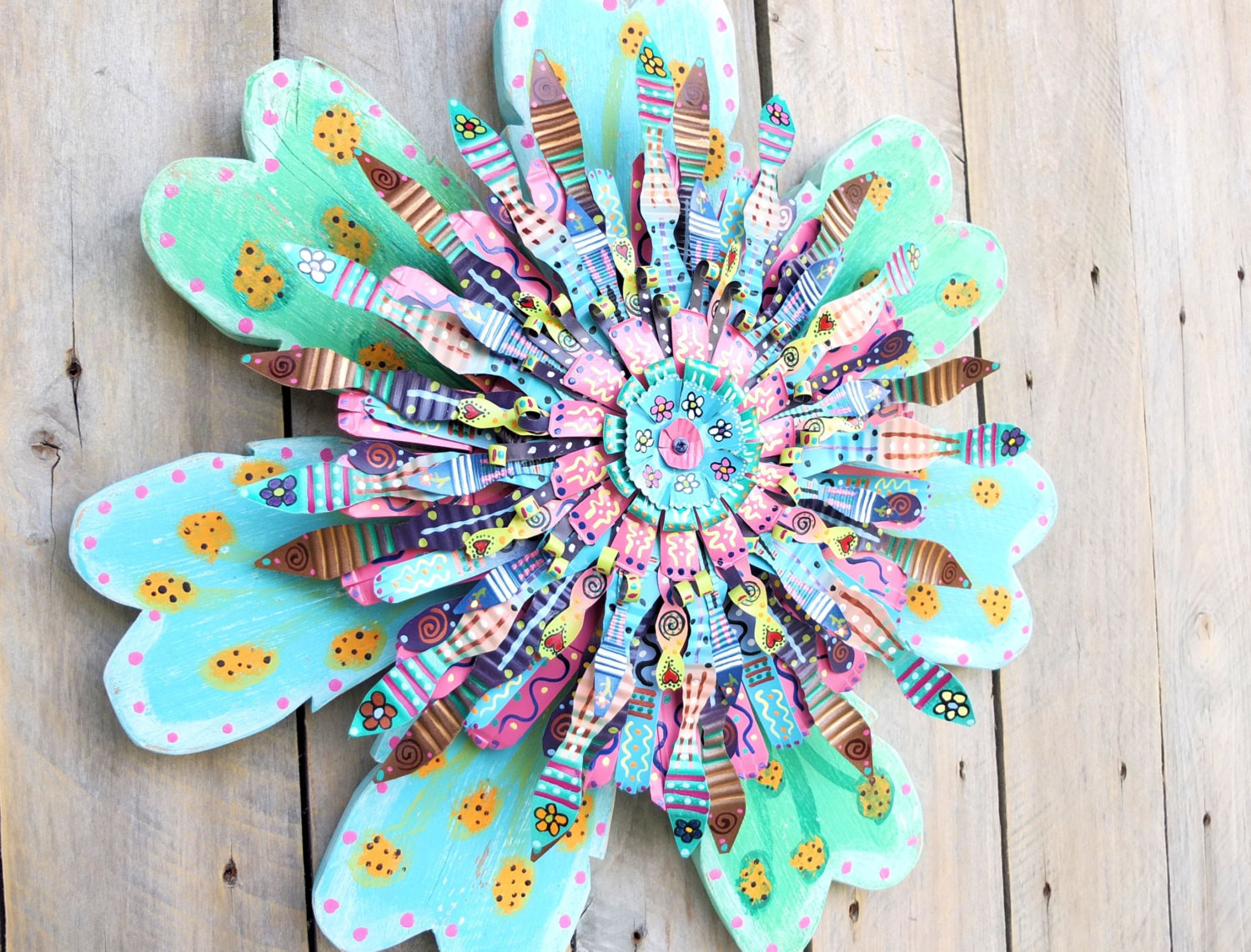 Best ideas about Boho Wall Art . Save or Pin Bohemian Decor Boho Wall Art Turquoise Wall by SalvageandBloom Now.