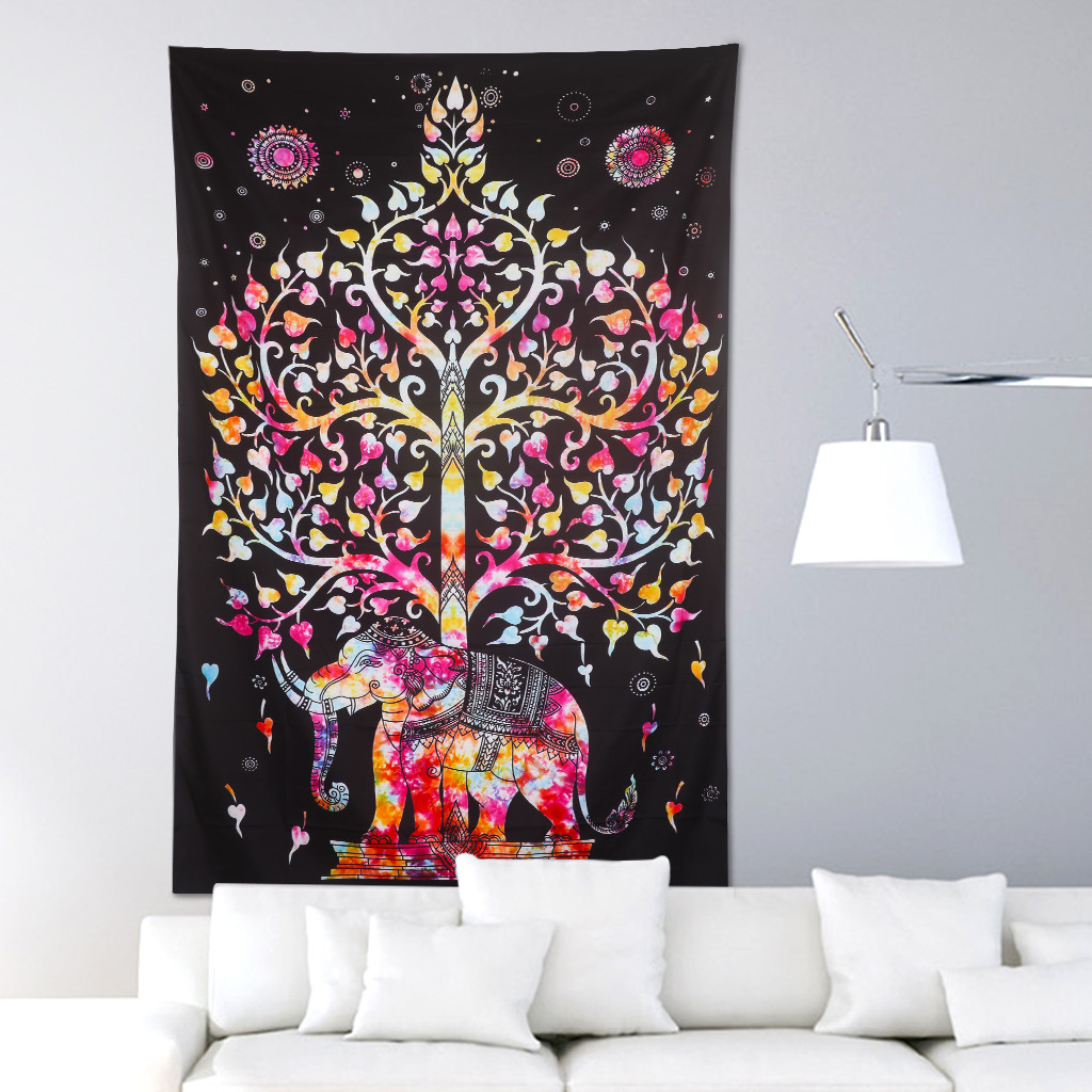 Best ideas about Boho Wall Art . Save or Pin Indian Wall Hanging Bohemian Ethnic Wall Art Mandala Now.