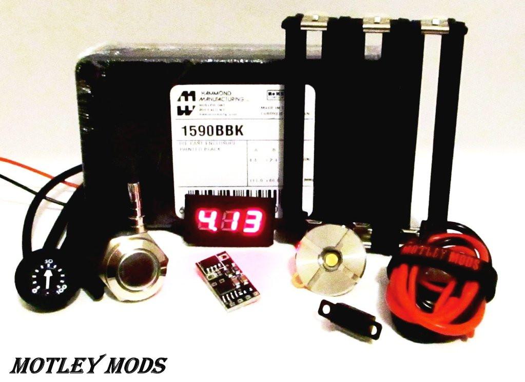 Best ideas about Box Mod Kit DIY . Save or Pin Box Mod kit 1590B Triple PWM Diy Kit – Motley Mods llc Now.