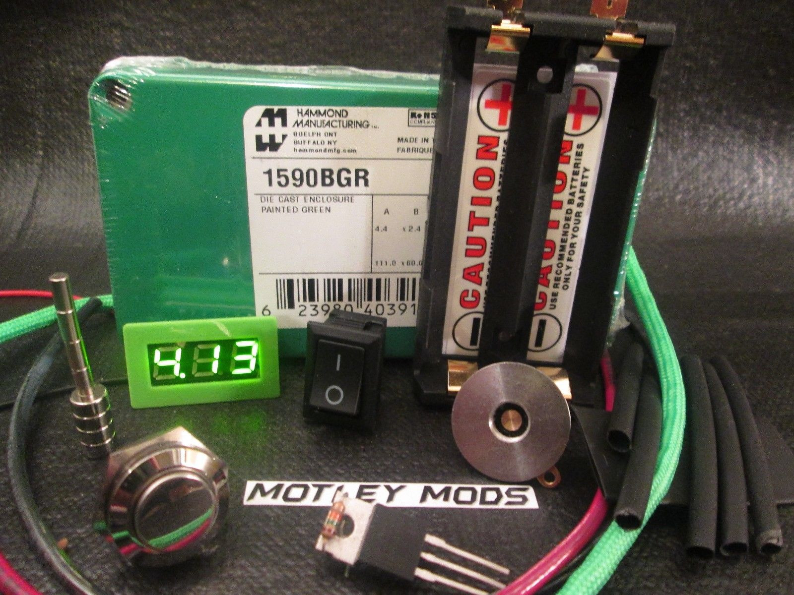 Best ideas about Box Mod Kit DIY . Save or Pin Unregulated Box Mod Kit Diy 1590b fdv 510 Connector mosfet Now.