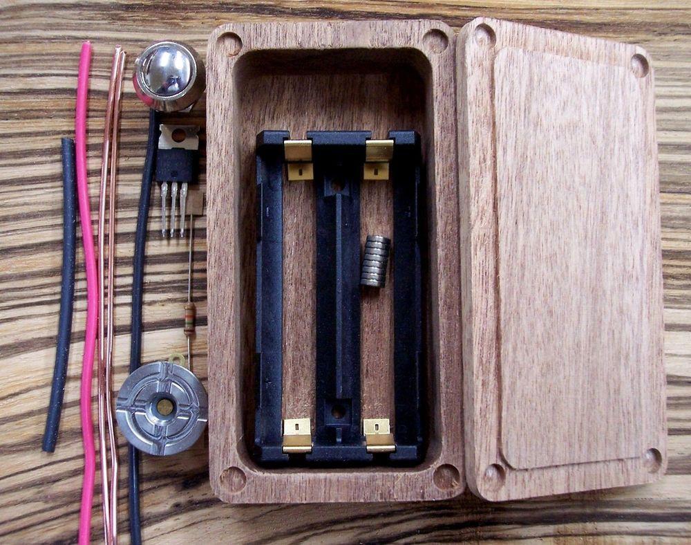 Best ideas about Box Mod Kit DIY . Save or Pin Wood Box Mod Kit Enclosure DIY Mosfet Hammond 1590g Now.