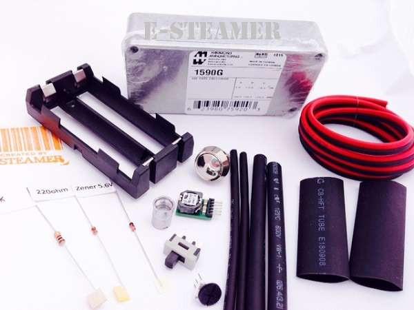Best ideas about Box Mod Kit DIY . Save or Pin OKR T 10 Box Mod KIT Hammond 1590G Kit Sub Ohm boxmod Now.