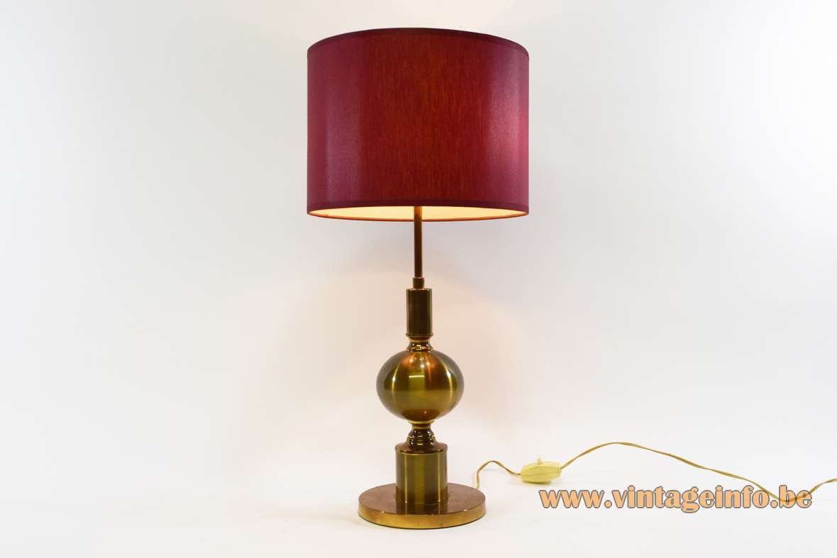 Best ideas about Brass Desk Lamp . Save or Pin 1960s Brass Table Lamp –Vintage Info – All About Vintage Now.